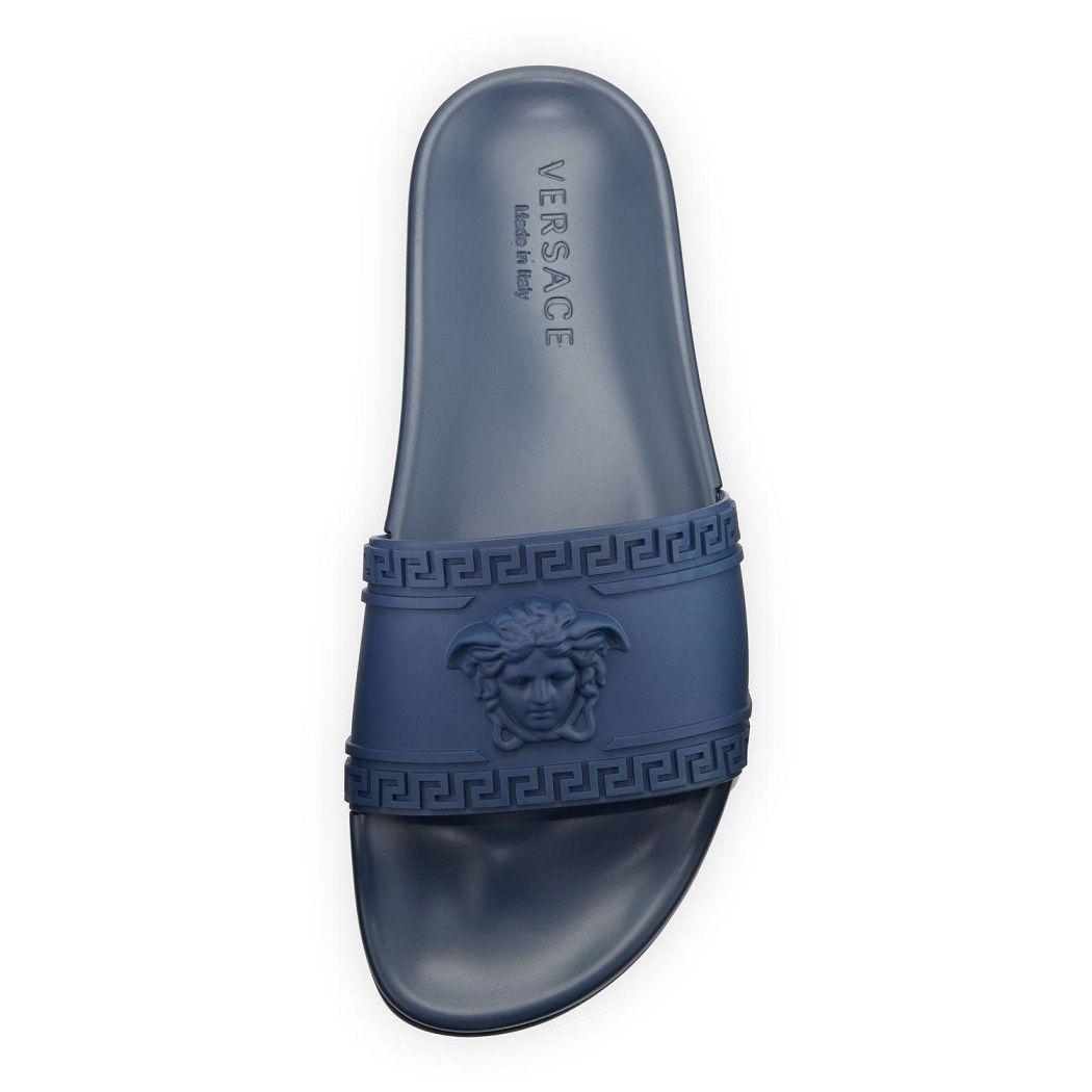 3a35d8bb07e8 Versace Medusa   Greek Key Mens Shower Slide Sandal