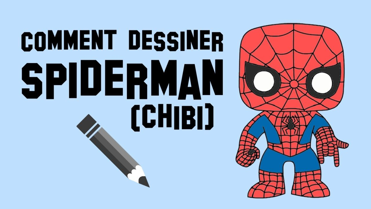 Comment dessiner spiderman chibi manga pinterest manga - Dessiner spiderman facile ...
