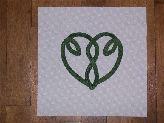 Simple heart celtic knot amazing quilting fun quilts quilting
