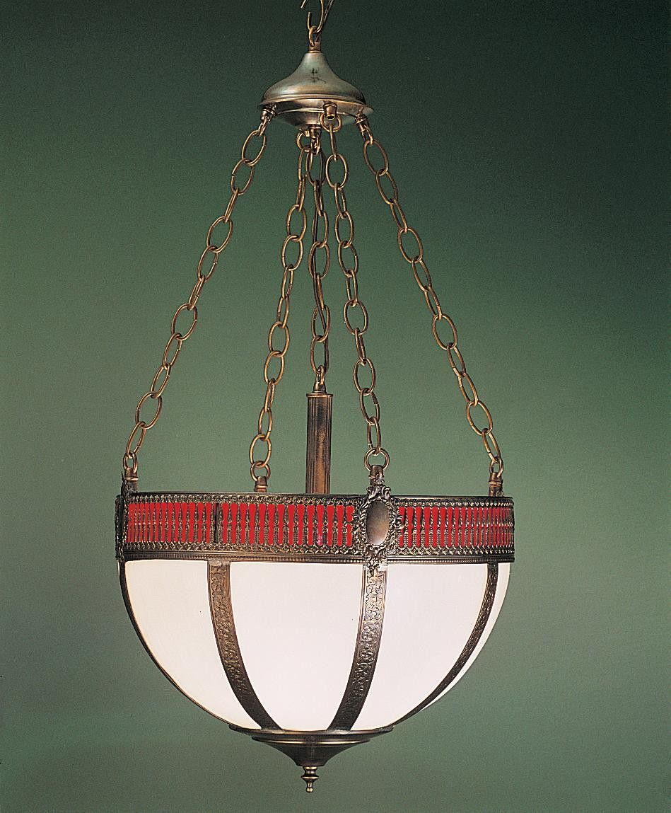 16 Inch W Gothic Basket Inverted Pendant. 16 Inch W Gothic Basket Inverted Pendant Theme:  MISSION GOTHIC Product Family:  Gothic Basket Product Type:  CEILING FIXTURE Product Application:  INVERTED PENDANT Color:  CA RED Bulb Type: MED Bulb Quantity:  4 Bulb Wattage:  100 Product Dimensions:  28H x 16WPackage Dimensions:  NABoxed Weight:   lbsDim Weight:  17 lbsOversized Shipping Reference:  NAIMPORTANT NOTE:  Every Meyda Tiffany item is a unique handcrafted work of art. Natural...