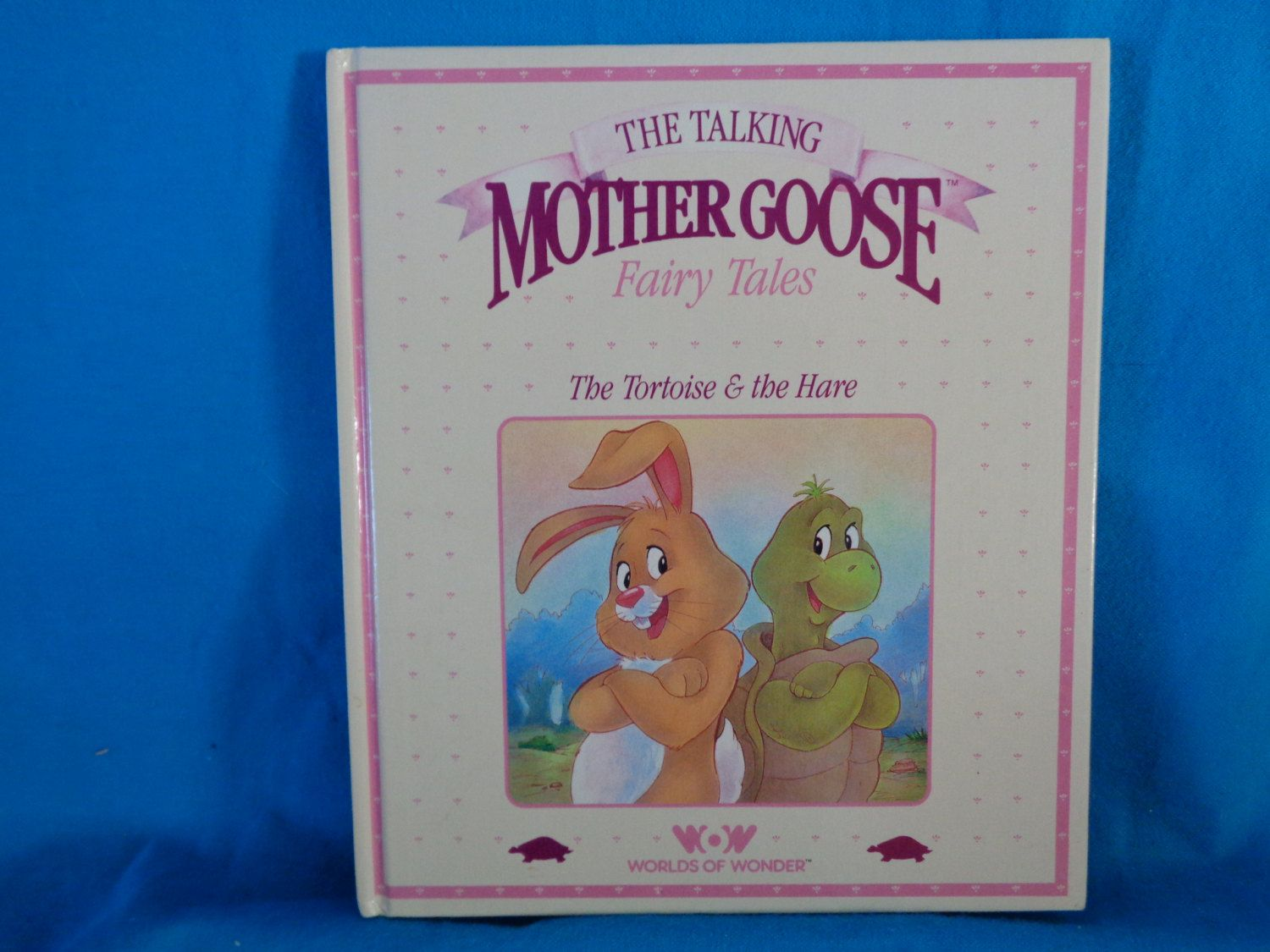 Vintage 1986 The Talking Mother Goose Fairy Tales The Tortoise