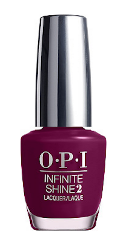 OPI purple nail polish