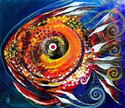 famous fish art by j vincent scarpace artist other art