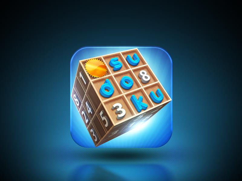 App Icon for Sudoku 3D App icon, Sudoku, Icon