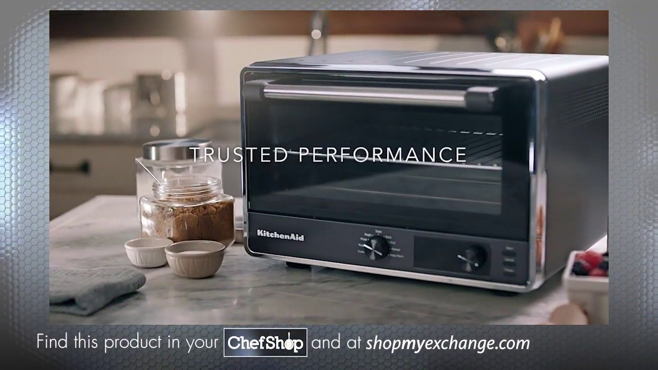 Introducing the new kitchenaid digital countertop oven in