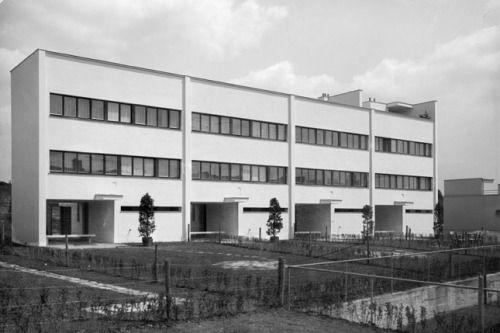 Modern Architecture Vienna werkbundsiedlung haus 25-28 wien 1932 andré lurçat | 1930—39