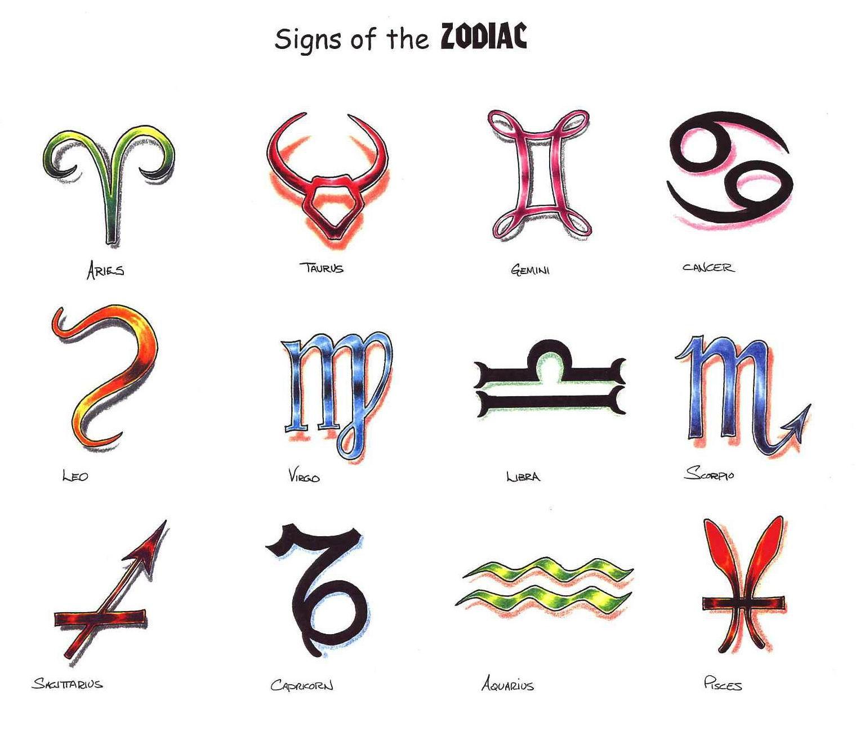 Sign tattoo designs - Zodiac Symbol Tattoos On Zodiac Tattoos Types And Designs Articles Web