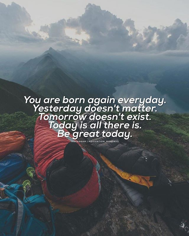 Be great today. _ Photo©: @daniel_ernst