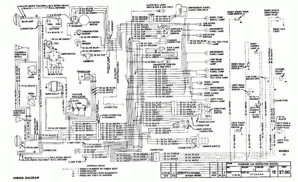 12 1957 chevy truck wiring diagram  truck diagram