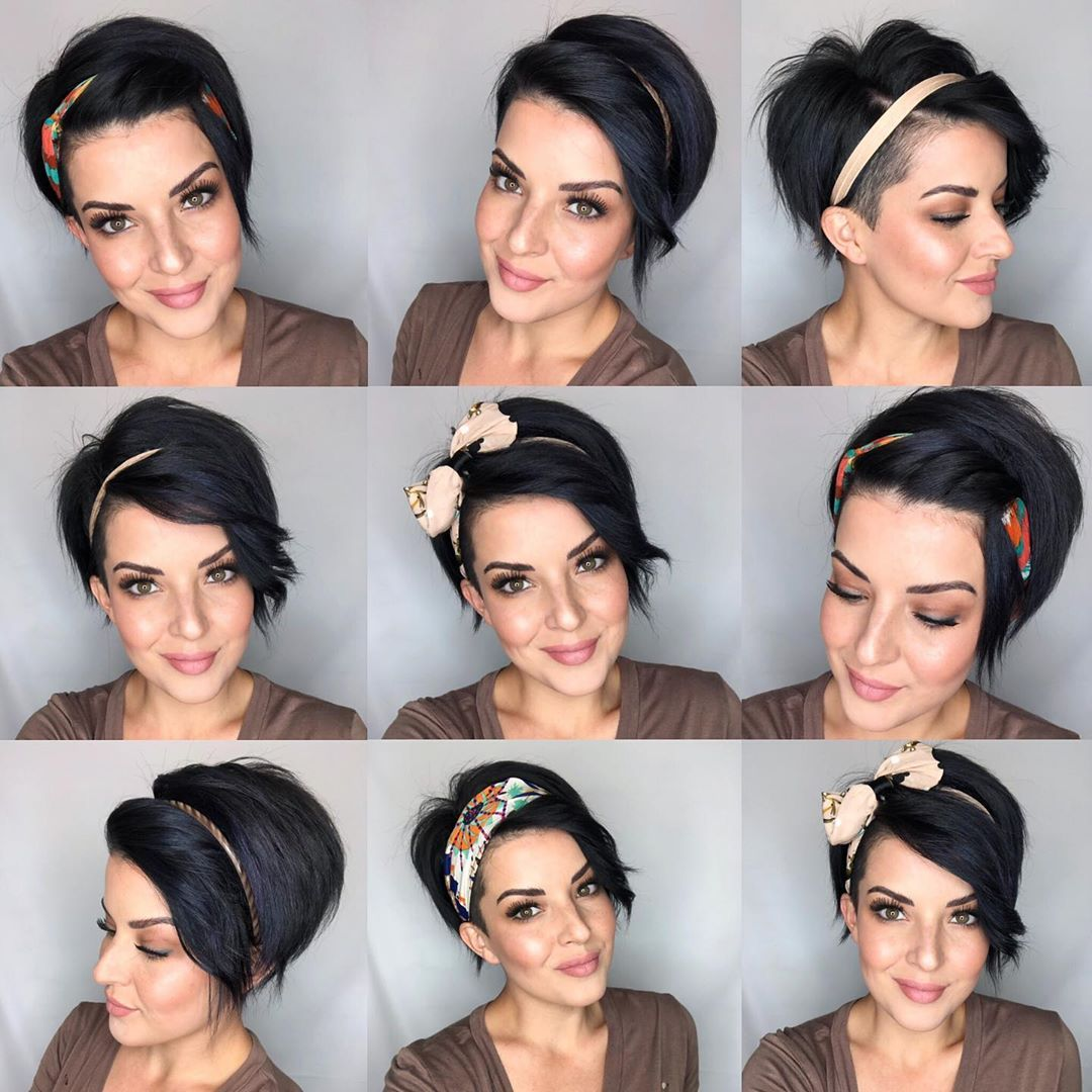 Melanie Astill On Instagram Headbands Headbands Headbands Pixieperfection Longp Headbands For Short Hair Short Hair Styles Short Hair Styles Pixie