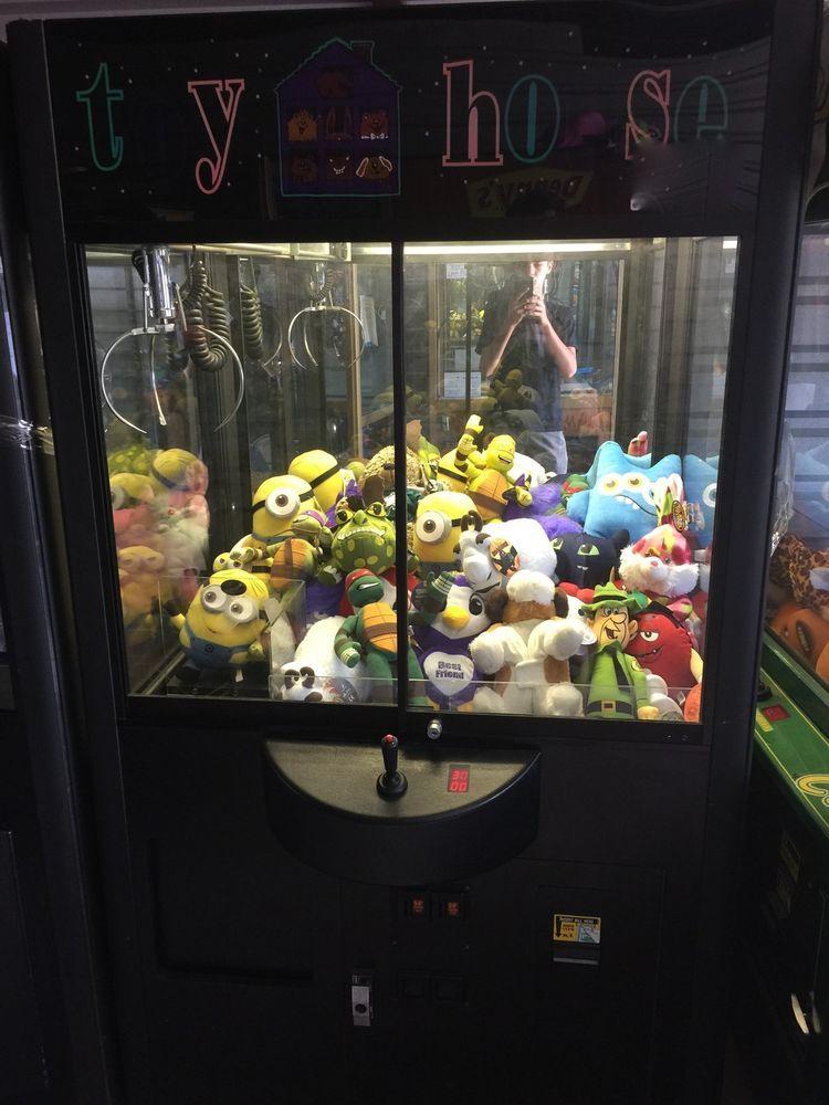 Toy House Rainbow Claw Machine Crane Game Arcade ...
