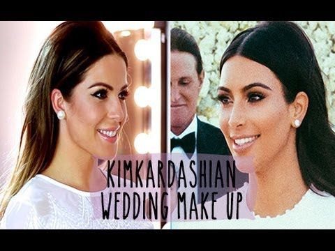 Kim Kardashian Wedding Make Up Hollie Wakeham