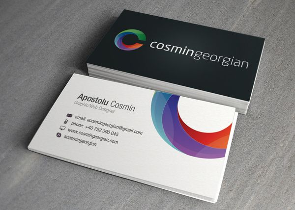 Logo integration business card inspiration pinterest business card design is one of the most important and cost effective marketing tools today we have 35 ultimate business card design for inspiration colourmoves