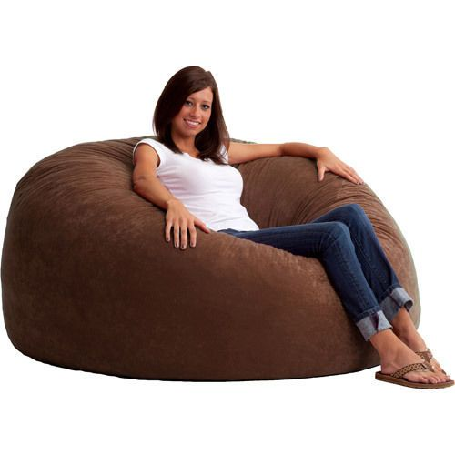 Fabulous Large Bean Bag Chair Adults Kids Teens College Dorm Room Dailytribune Chair Design For Home Dailytribuneorg