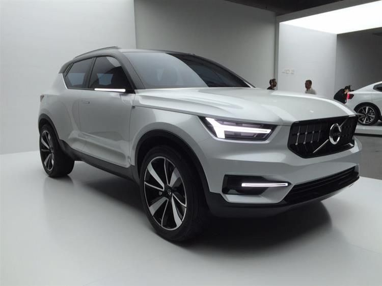 volvo xc40 un suv compact et hybride enfin photos voitures hybrides rechargeables. Black Bedroom Furniture Sets. Home Design Ideas