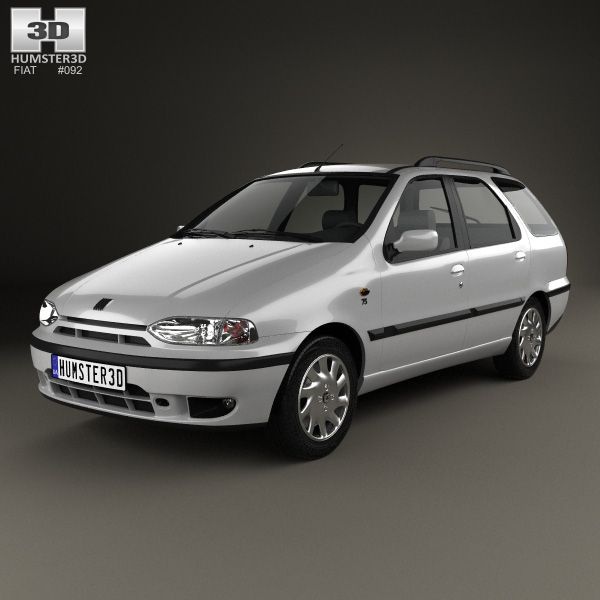 3d Model Of Fiat Palio Weekend 1997 Toyota Avensis Fiat Toyota