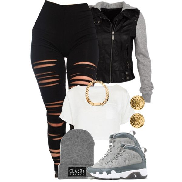 Black Swag Outfits With Joggers-Photos Porno-1659