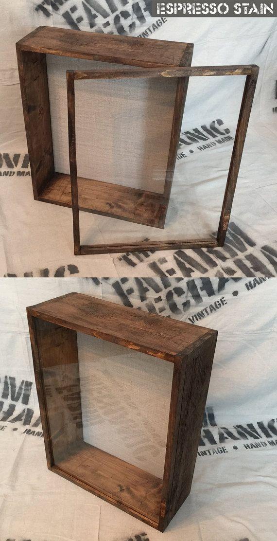 16x20 Shadow Box Extra Deep Shadow Box 4 Inches Deep Deep Shadow Box Shadow Box Wood Display
