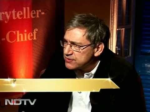 ▶ Orhan Pamuk on India engagement - YouTube