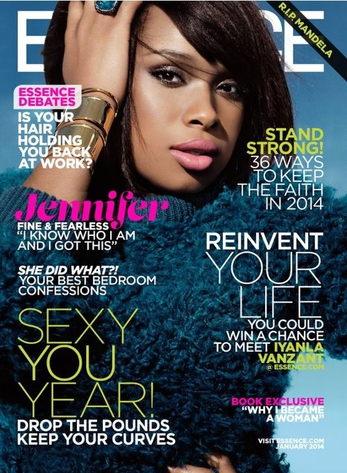 Jennifer Hudson for ESSENCE Magazine January 2014