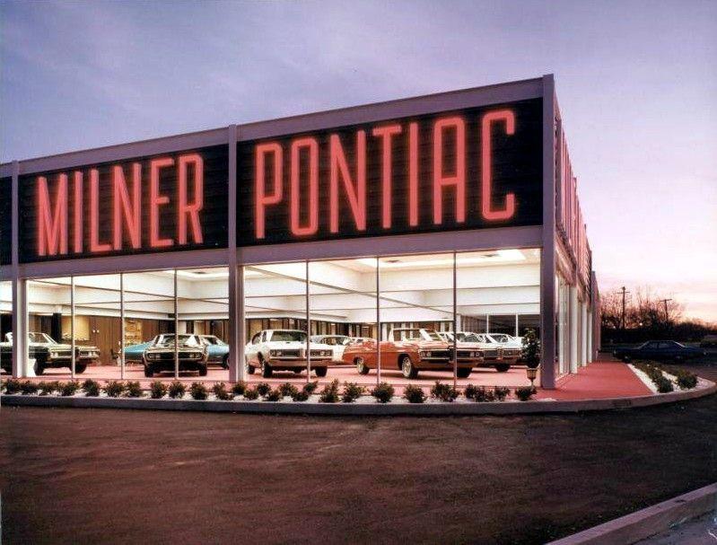 Milner Pontiac Tulsa 1968 Car Dealership Pontiac Dealership