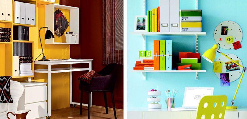 Ideas para oficinas peque as oficina peque a ideas para for Oficinas pequenas minimalistas