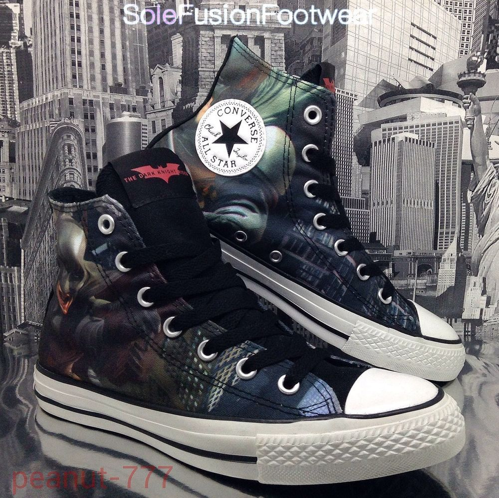 Converse 135195C All Star BATMAN Trainers DC COMICS Limited