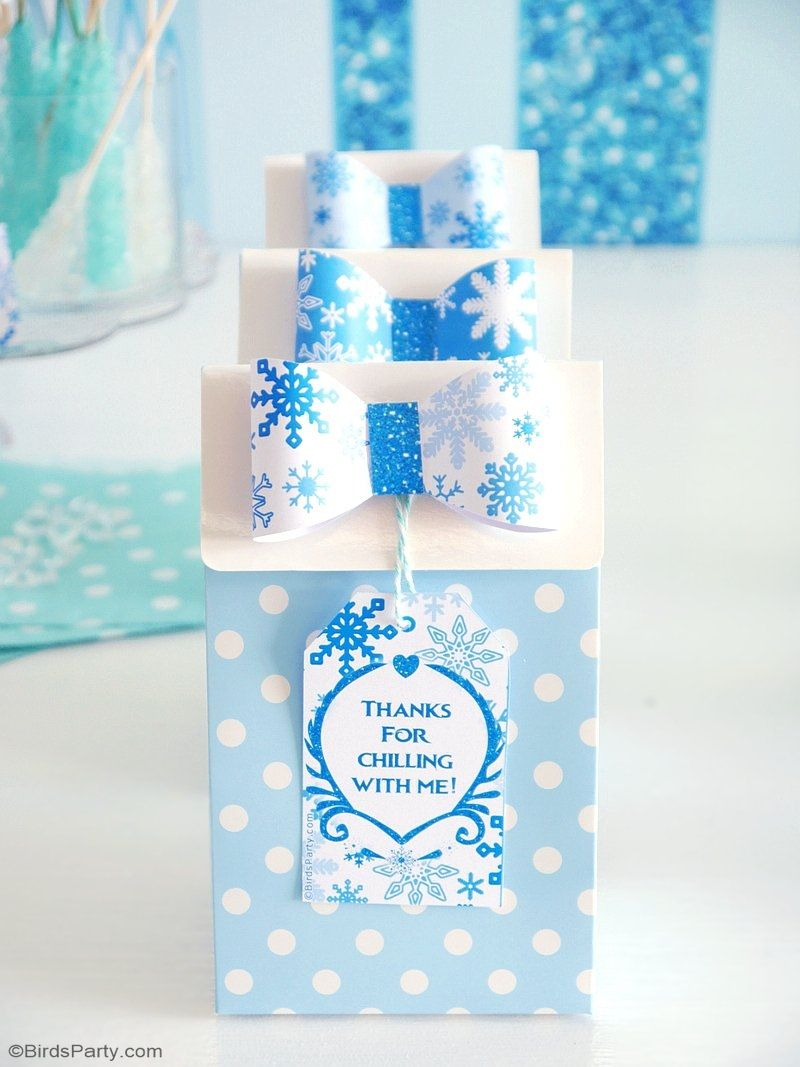 Frozen birthday party decorations ideas  A Frozen Inspired Birthday Party  Party activities Dessert table