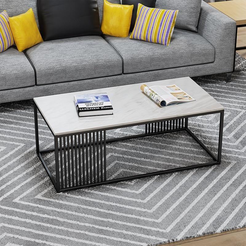 Scandinavian Marble Minimalist Coffee Table Coffee Table Scandinavian Coffee Table Minimalist Coffee Table