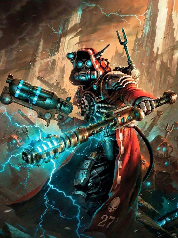 Adeptus Mechanicus Warhammer 40k | Warhammer 40k artwork, Warhammer art,  Warhammer