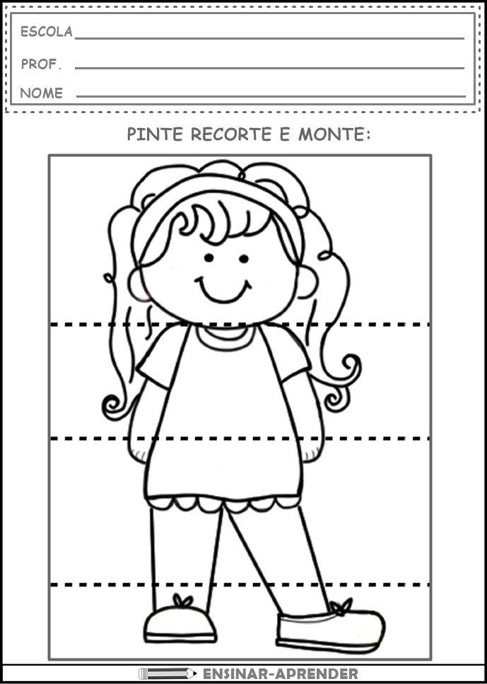 Atividades Identidade Ensinar Aprender 6 Com Imagens Projeto
