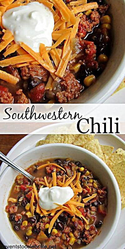 Southwestern Chili Recipe