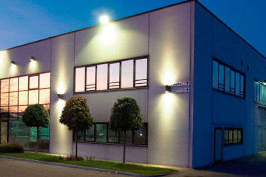 Commercial Building Outdoor Lighting Google Search