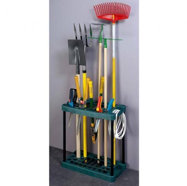Porte-outils de jardin droit | Outils | Pinterest | Outils de jardin ...