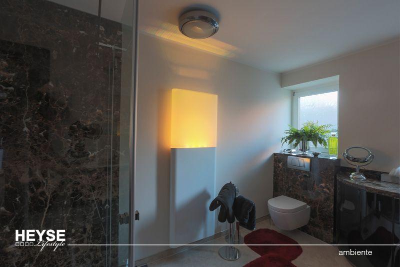 Badezimmer In Q3 Qualität Mineralisch Glatt Spachteln Und Mit Hochwertigen  Silikatfarben In Warmen Farbtönen Streichen