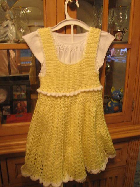 Ravelry: Sunny Day Girl's Dress pattern by Joyce Nordstrom