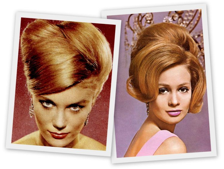 Goodbye Bouffant Hello Beehive The Hot Hairstyle Of 1960 Hair Styles Short Hair Styles Easy Hairdo For Long Hair