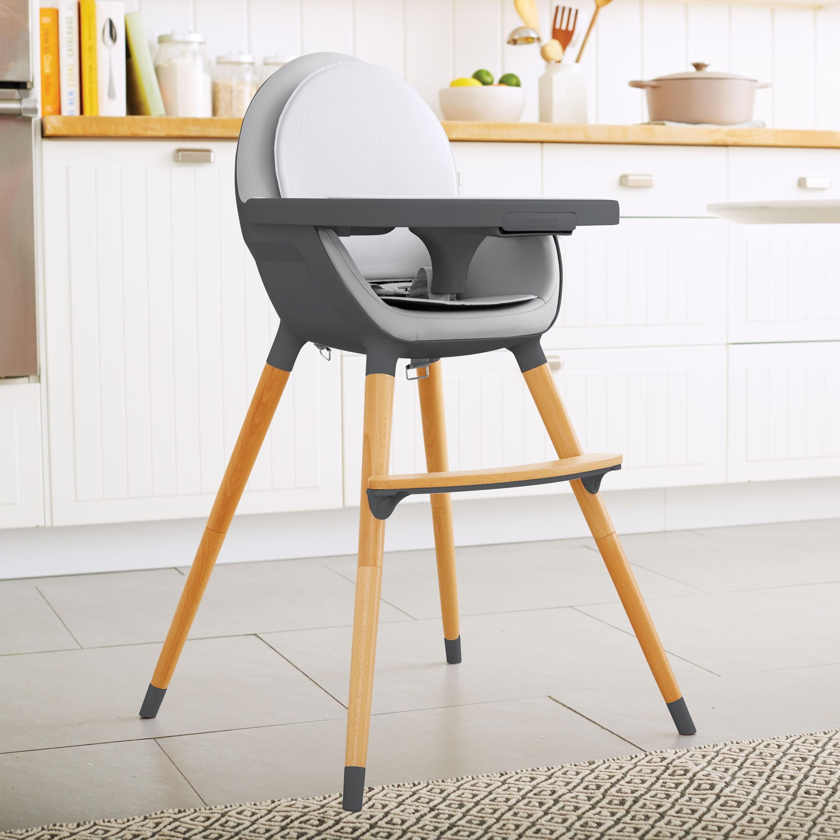 high com wood highchair highchairs deluxe chair childrens natural primo amazon baby poppy beech convertible plus dp