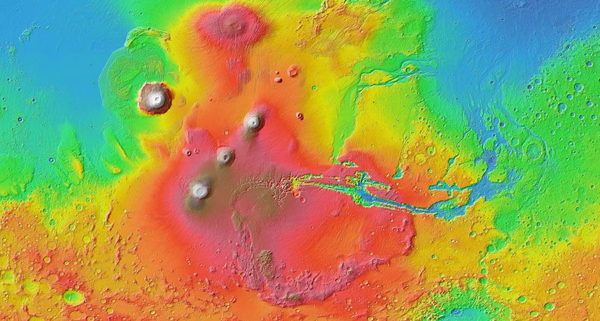 Red Planet's interior may not churn much