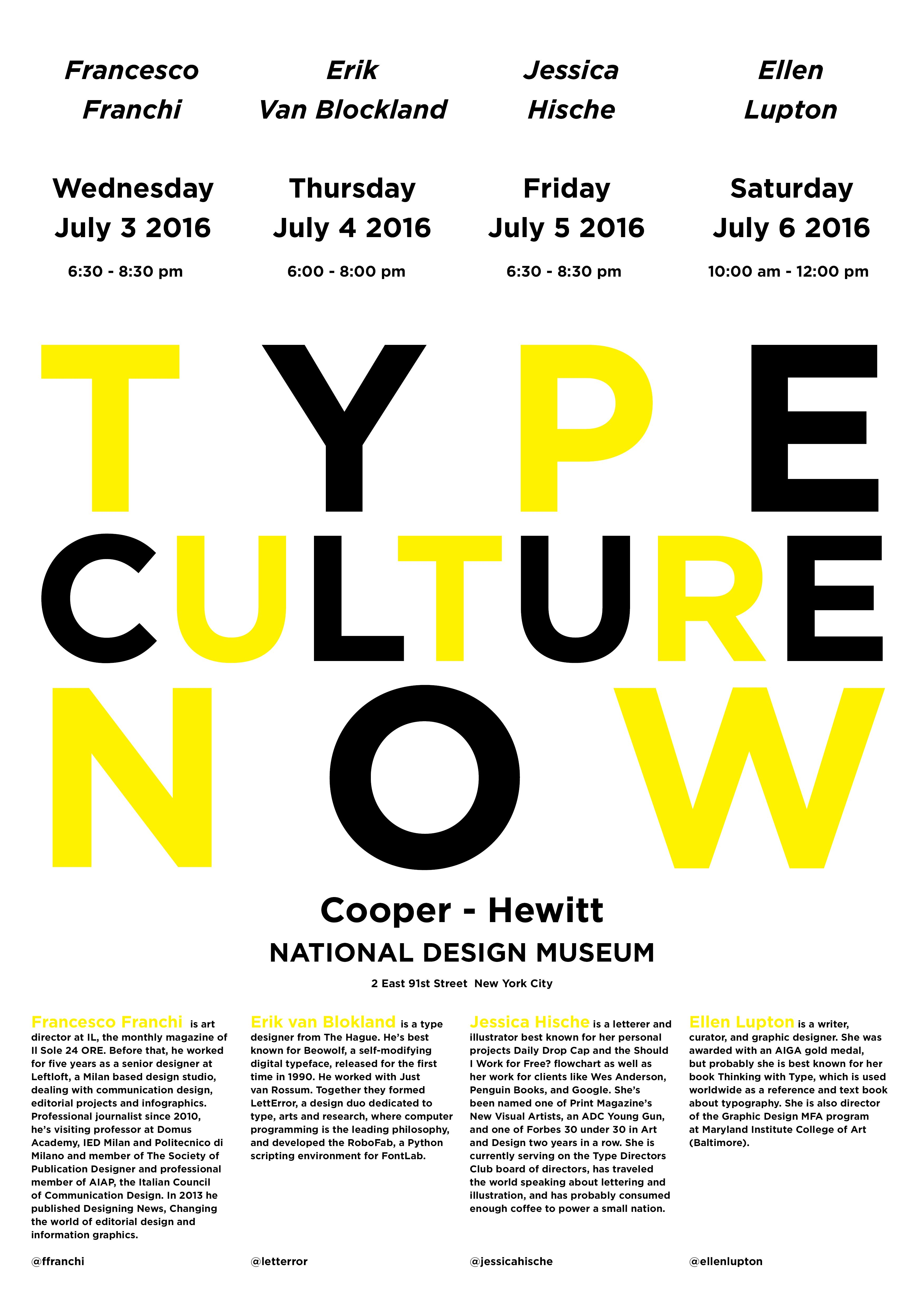 TYPE CULTURE NOW
