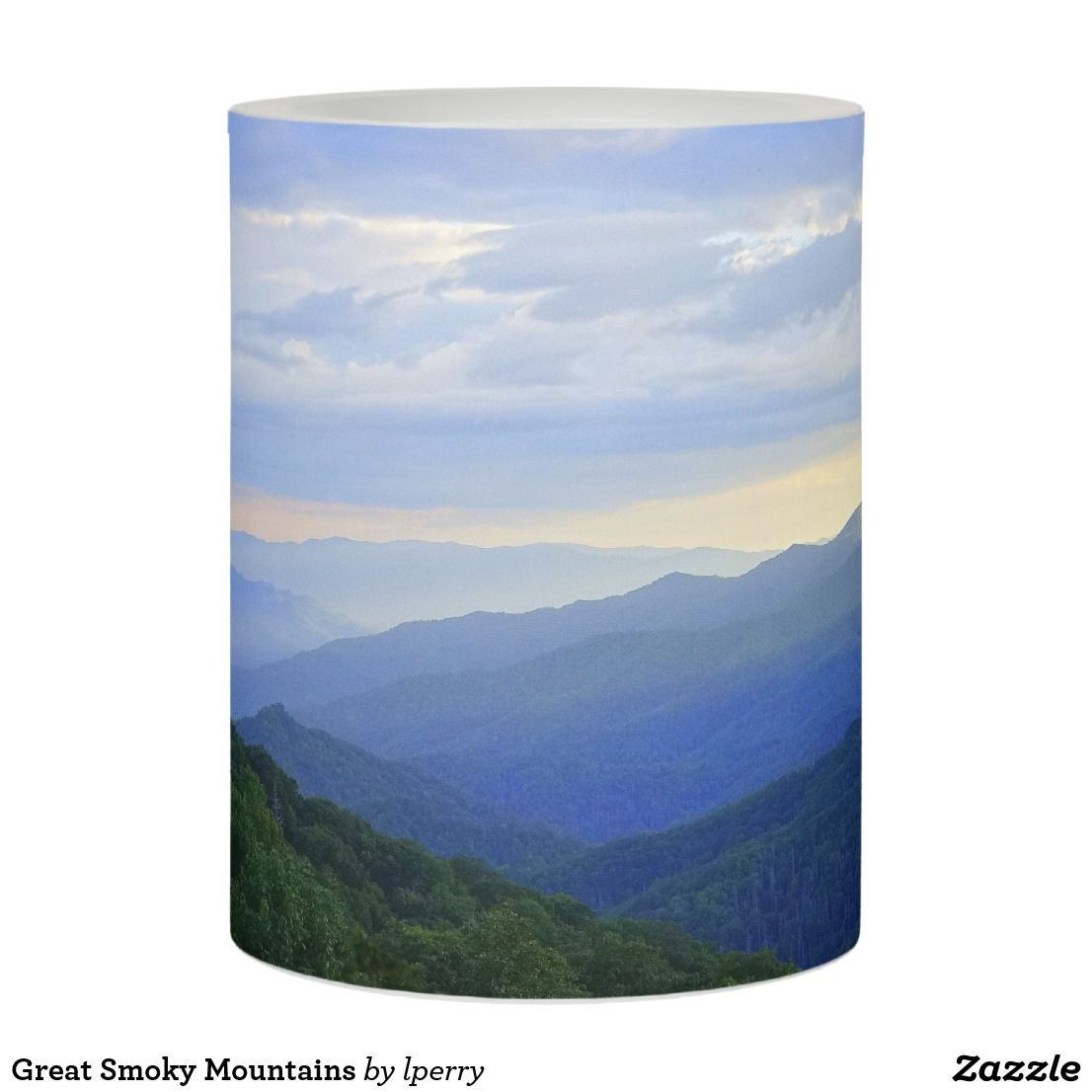 Great Smoky Mountains Flameless Candle