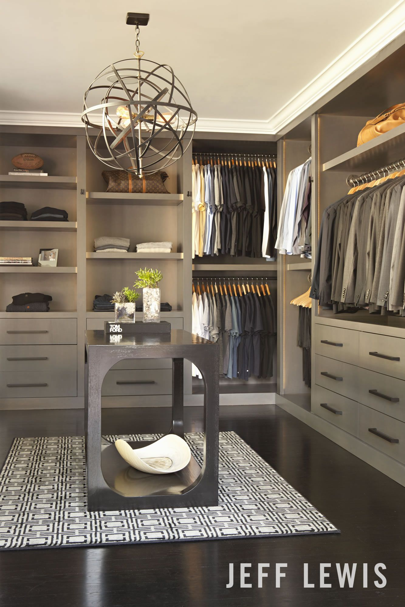 The Master Closet From Gramercy Place Luxury Closet