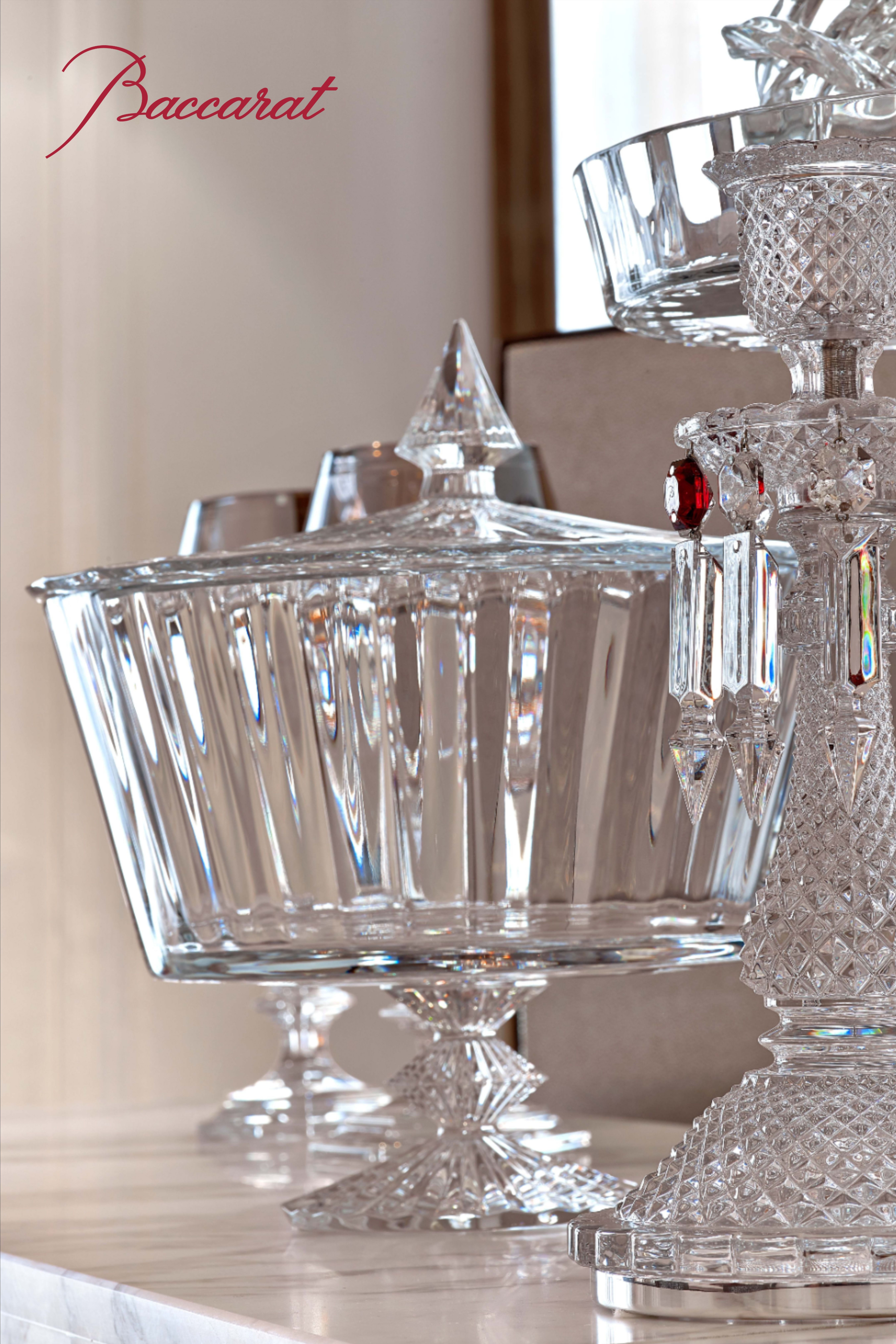 Mille Nuits Candy Box In 2020 Baccarat Crystal Crystal Stemware