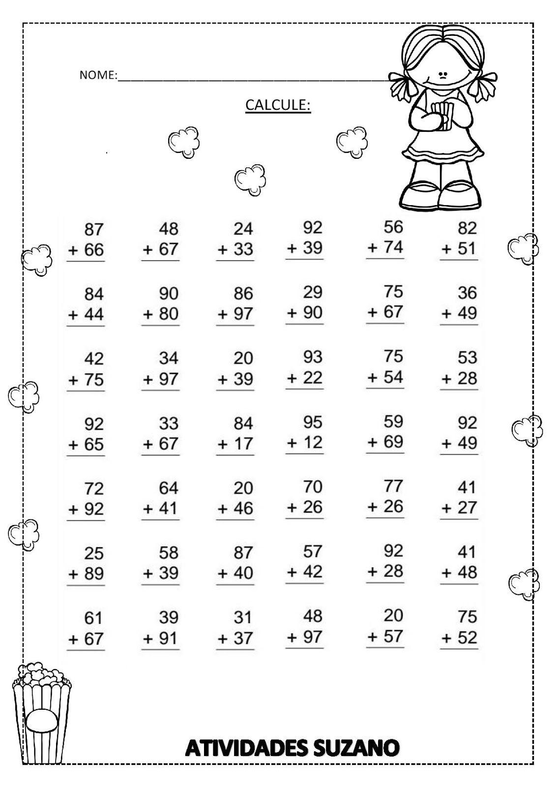 CALCULANDO-page-001.jpg 1.131×1.600 pixels | Propostas de matemática ...