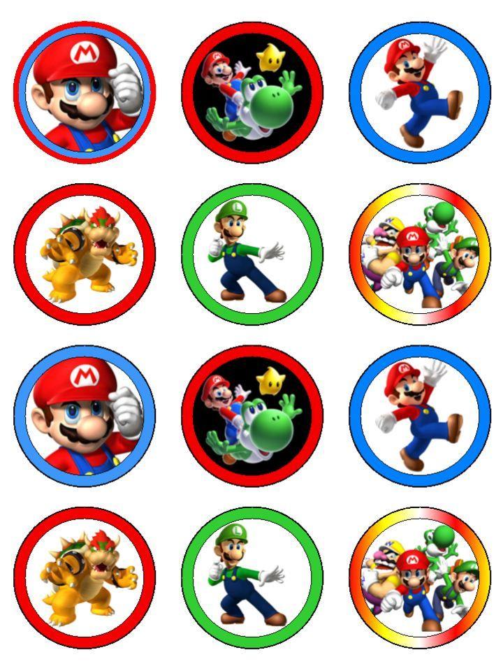 Pin De Crafty Annabelle Em Mario Brothers Printables Em