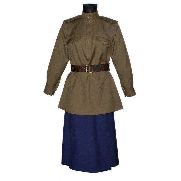 4058b32642d Red Army WW2 Soviet women s NKVD military uniform M43