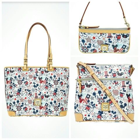 3cbe43e8e6a6 Americana by Dooney   Bourke - the latest collection by Disney in time for  the 4th of July