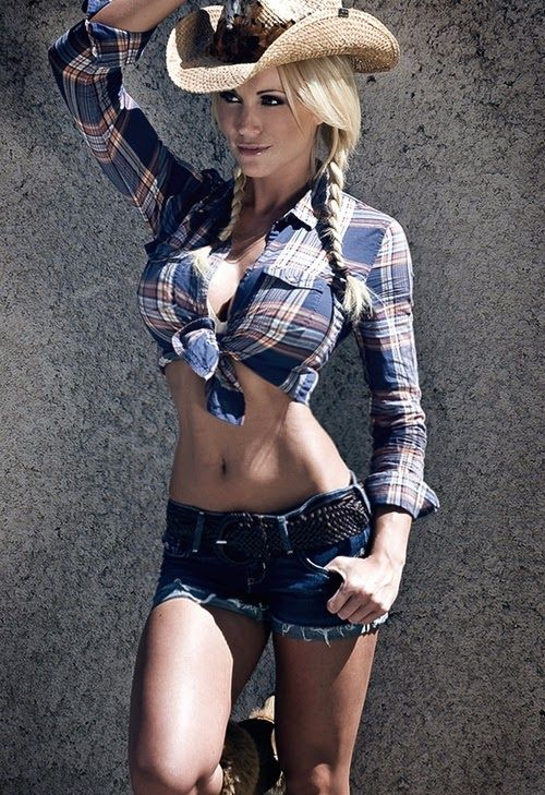 Superb Sexy Cowgirl Find This Pin And More On Sexy Girls
