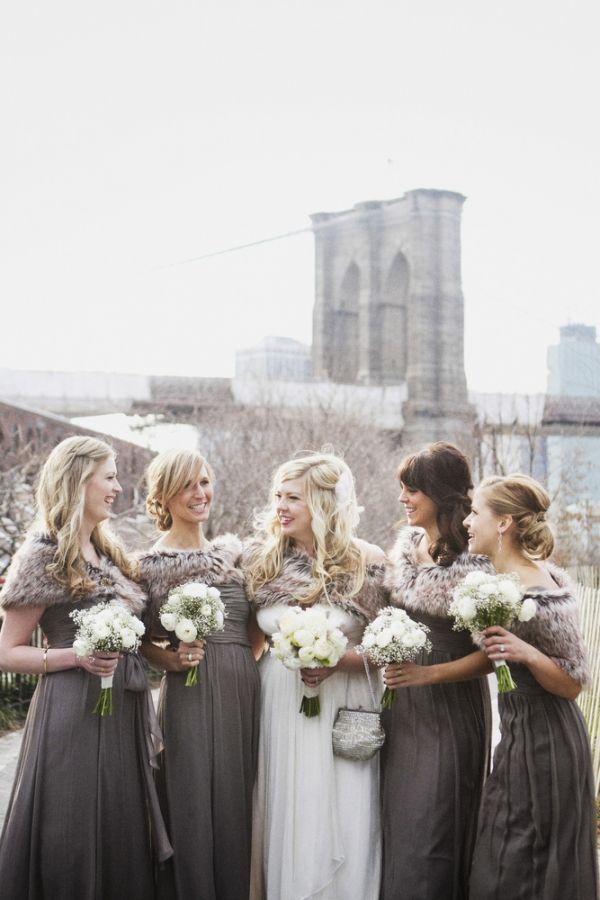 Cozy Brooklyn Winter Wedding We Heart Brooklyn