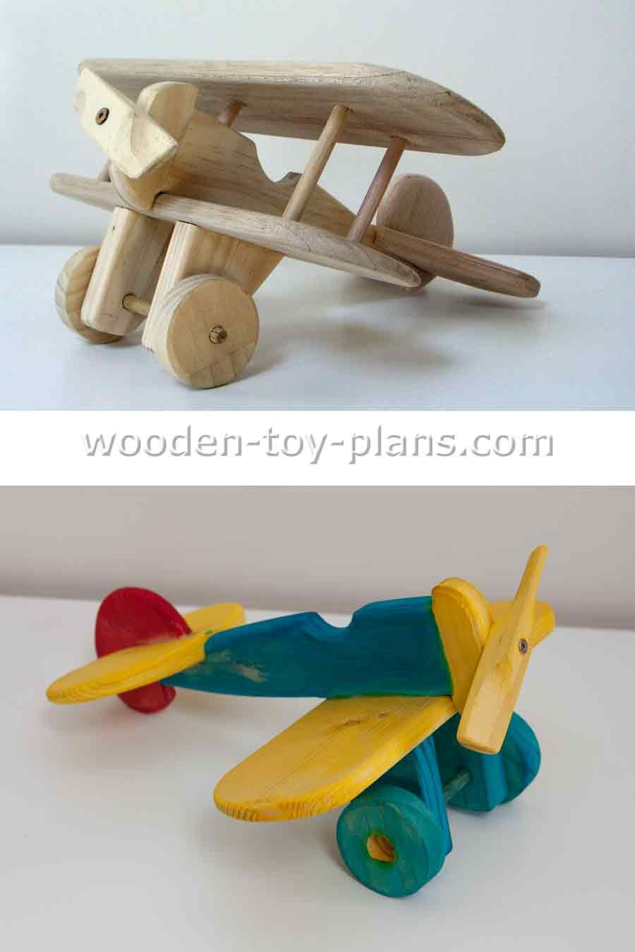 download free plans to make this wooden toy biplane. visit